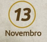 Celso Ricardo de Almeida: 'Sexta-feira 13 de novembro'