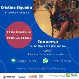 Projeto Cultural do Ateliê Cristina Siqueira promove encontros para quem ama poesia